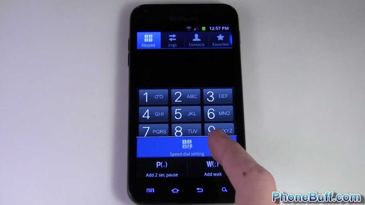 How To Set Speed Dial (for Android)