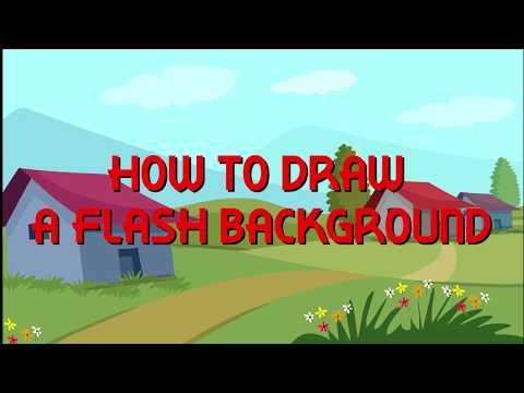 Background design in flash