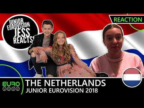 THE NETHERLANDS: Max and Anne - 'Samen' (REACTION) | Junior Eurovision 2018