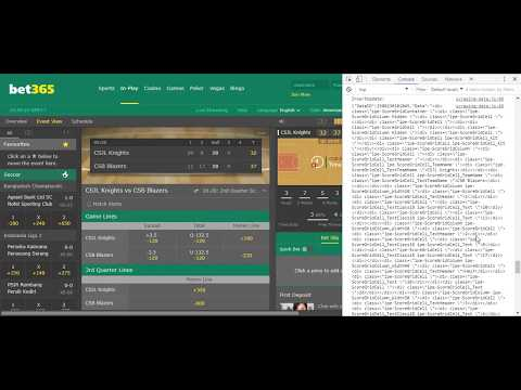 bet365 com - Hacked by Chrome Extension to get data changed