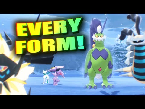 How To Get ALL Pokemon FORM Items! Giratina Origin Form, Therian Forms, & More! Crown Tundra DLC