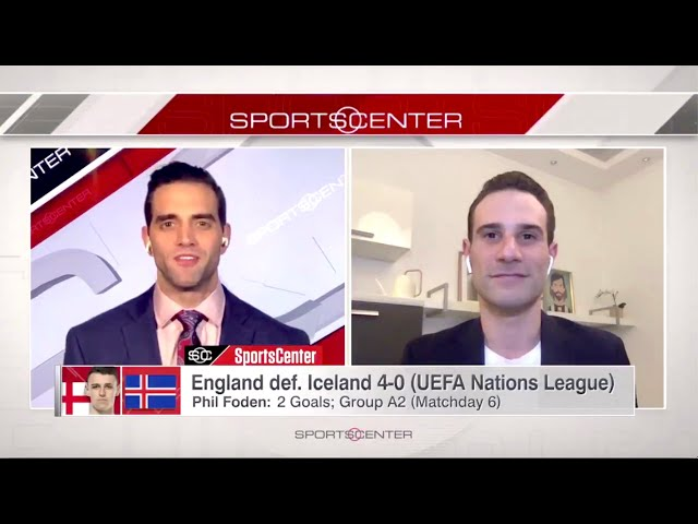 Adriano on ESPN SportsCenter (19/11/20)