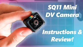 SQ11 Mini DV Camera Setup, Review, Instructions and Sample Footage!