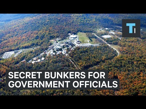 These are the secret bunkers government officials will go to in the event of an attack
