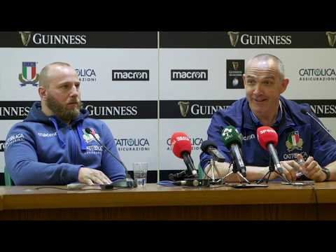 Conor O'Shea press conference after loss to Ireland | Guinness Six Nations