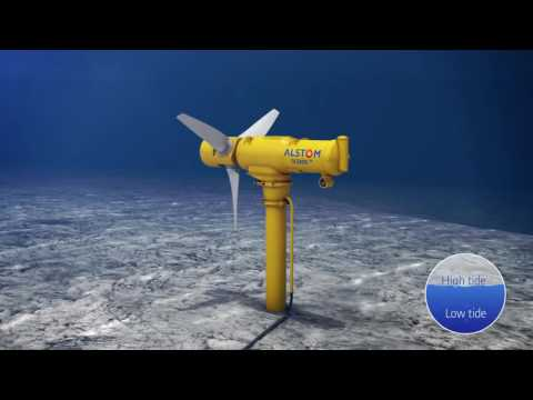 "TIDAL POWER - ALSTOM ""Making the Most of Ocean Resources"""