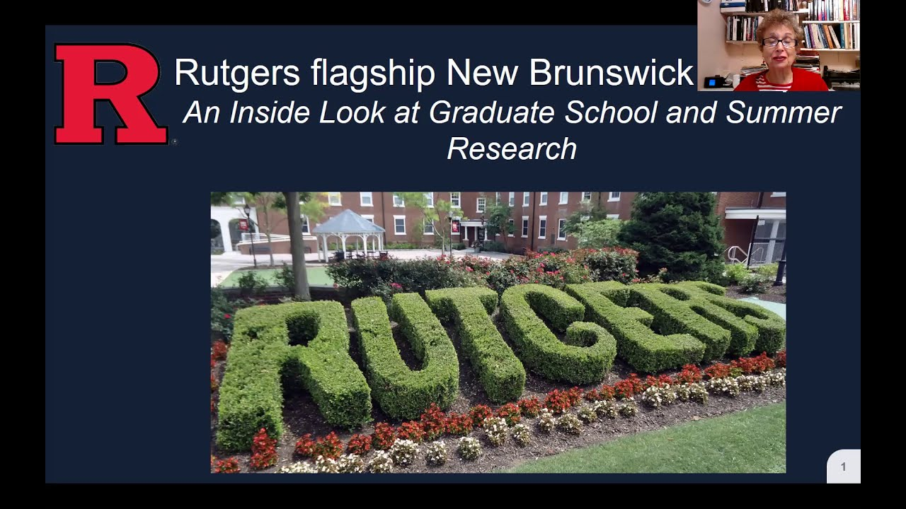 Take an Inside Look at Graduate Study at Rutgers