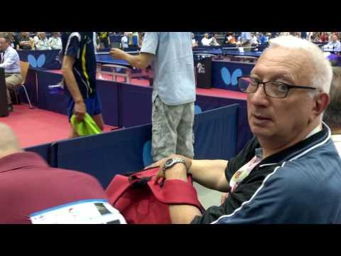 Чемпионат мира среди ветеранов по настольному теннису WVC2016 Аликанте Испания