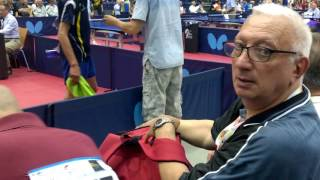 Чемпионат мира среди ветеранов по настольному теннису WVC2016 Аликанте Испания(Играет Каплан. На соседнем столе - Савельев., 2016-12-21T22:11:29.000Z)