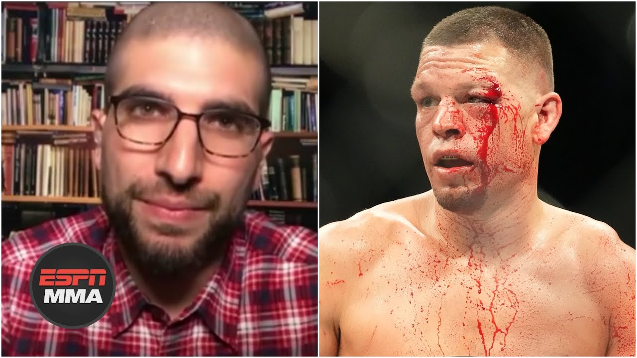 'Those 60 seconds are why Nate Diaz is the legend that he is' - Ariel Helwani |  DC & Helwani