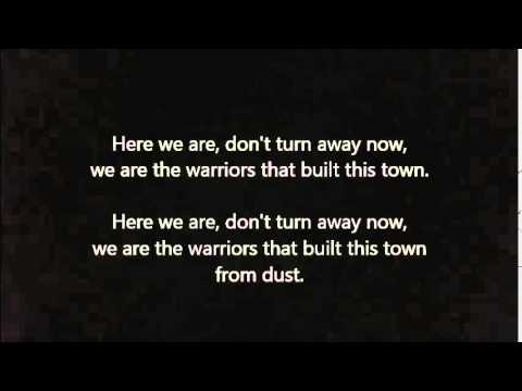imagine dragons  warriors  lyrics ( League of Legends World Championship 2014)