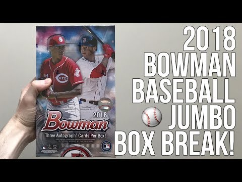 2018 Bowman Baseball - Jumbo Box Break!