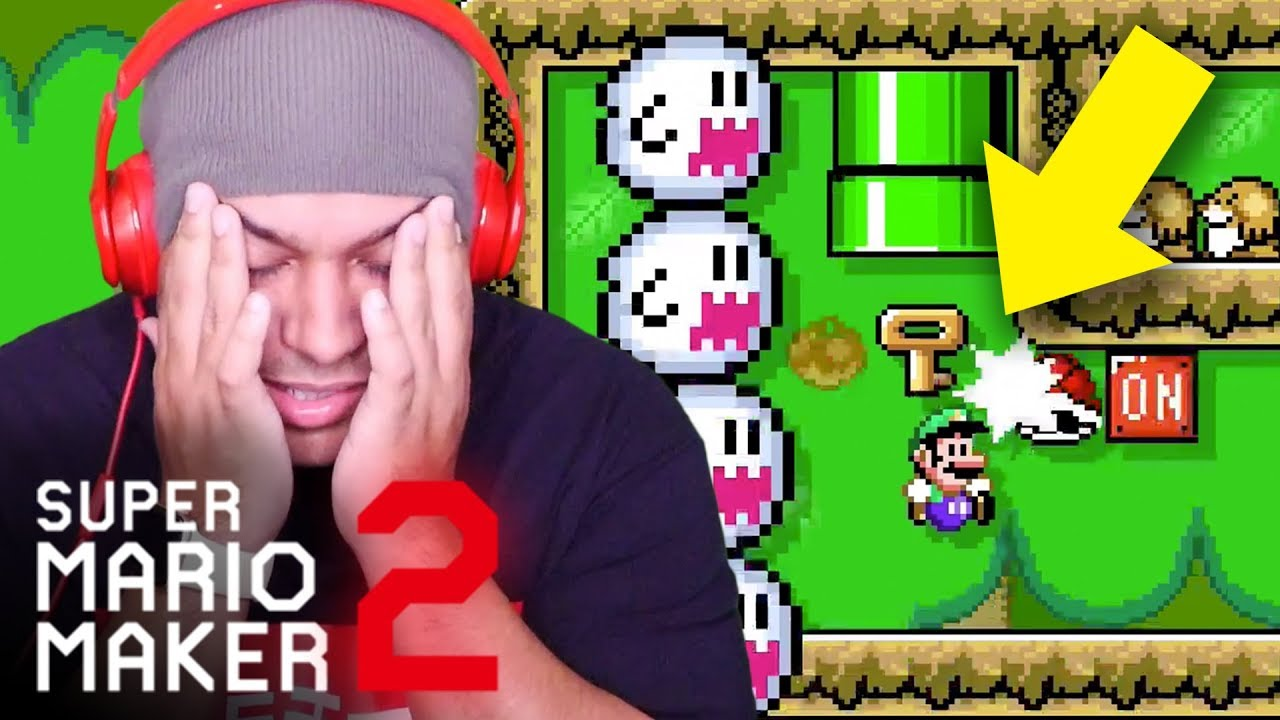 HOW IN THE FUUUU DO YOU EVEN BEAT THIS LEVEL??? [SUPER MARIO