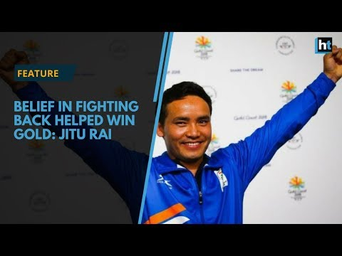 Jitu Rai, winner in men's 10m air pistol says strong belief helped him win
