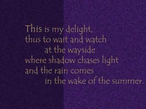 From Gitanjali: Where Shadow Chases Light - Rabindranath Tagore [JustReadings]