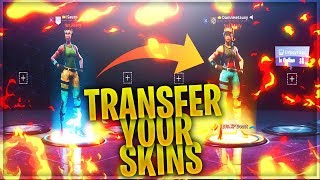 Transfer Your Skins To Any PS4, Xbox, Or PC Account! Make A New Account And Keep Your Skins!