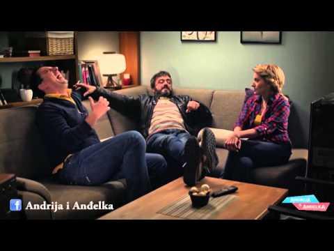 Andrija i Andjelka - Kad ti stari drugar dodje u posetu