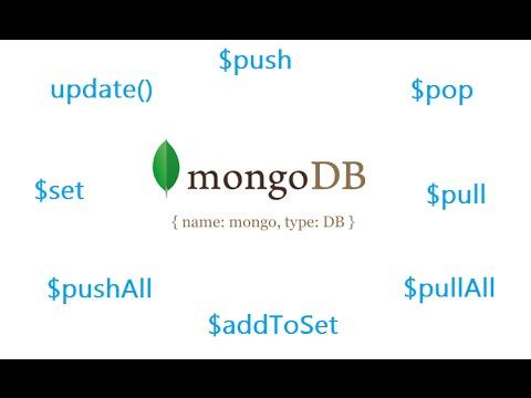 Working With Arrays: MongoDB - YouTube