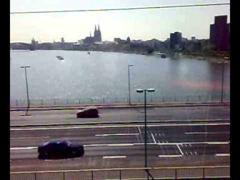 Cologne Cable car, Seilbahn Koeln 2/3
