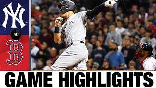 Yankees vs. Red Sox Game Highlights (9/26/21) | MLB Highlights