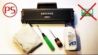 Как просто заправить картридж и прошить лазерный принтер(Показываю в домашних условиях заправку лазерного картриджа D104 с последующей прошивкой принтера ML 1860 на..., 2015-09-13T07:12:27.000Z)