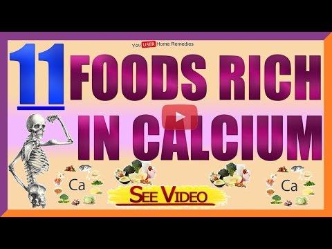 11 Foods Rich in Calcium