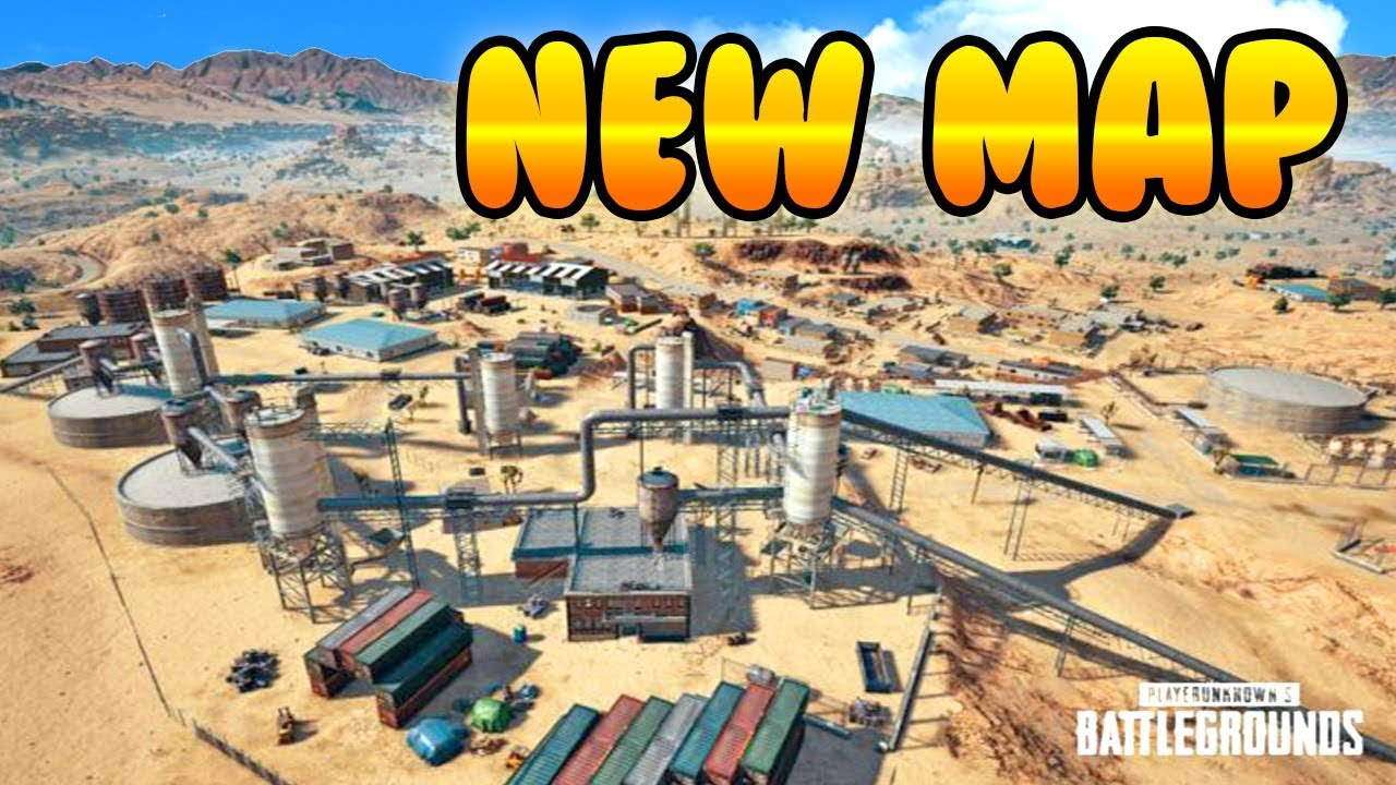 Playerunknown S Battlegrounds Maps Loot Maps Pictures: NEW DESERT MAP FIRST EVER GAMEPLAY! PlayerUnknowns