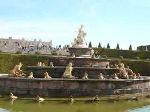 Jardins du ch teau de versailles youtube for Jardin de versailles