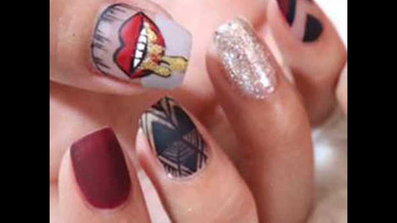 Cute Nail Nail Art Diy Tutorial Nail Polish Nail Art Designs Compilation July 2018