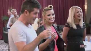 Demi Lovato And Simon Cowell Funniest moments on The X factor - Season 2 3 6 LEGENDADO.mp3