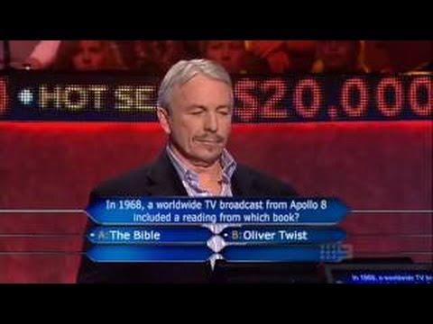 Millionaire Hot Seat Australia Barry Soraghan 8 June 2009