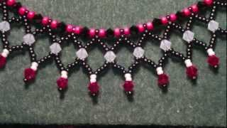 Beading4perefectionists : Netted basic tutorial a little adjusted (beads replaced)