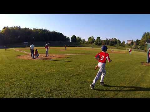 EJBL Babe Ruth Exeter  Red vs Orange 5.24.18