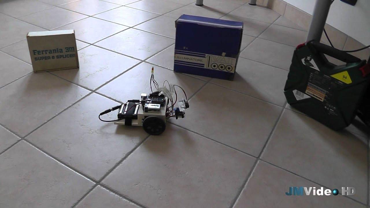 Arduino robot evita ostacoli youtube