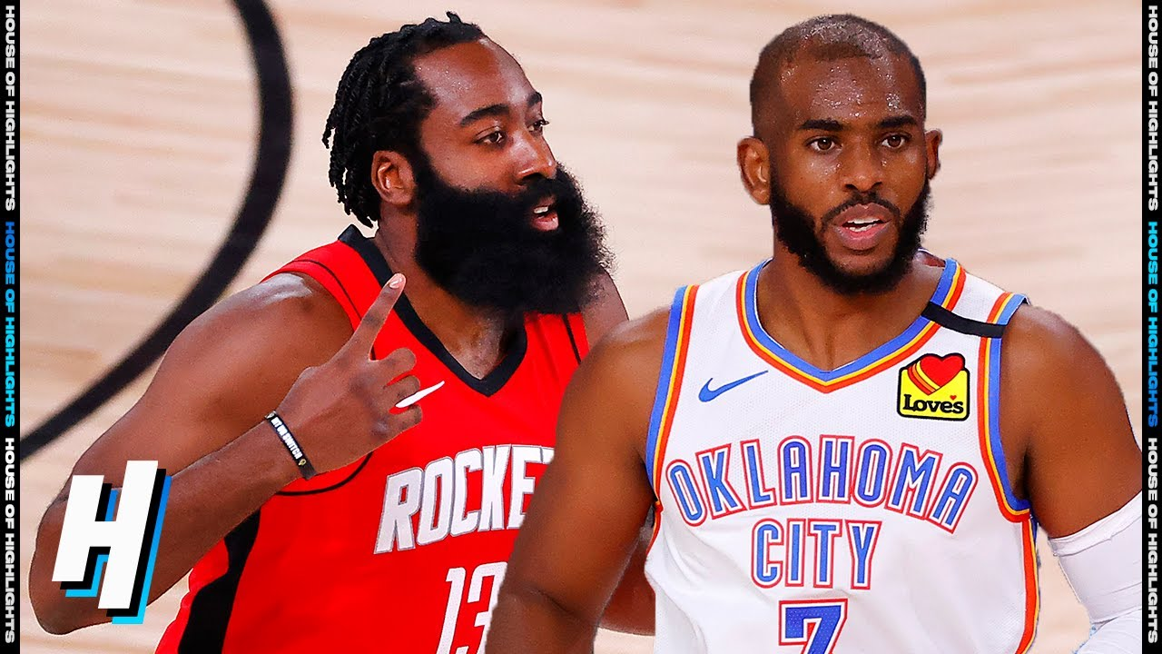 Oklahoma City Thunder vs Houston Rockets - Full Game 2 Highlights | August 20, 2020 NBA Playoffs