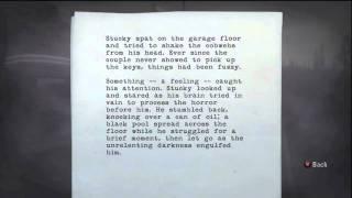 Alan Wake - Manuscript Pages