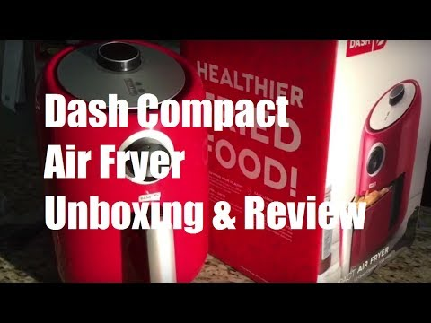 Unboxing And Review: Dash Compact Air Fryer (& Fries Frying Test)