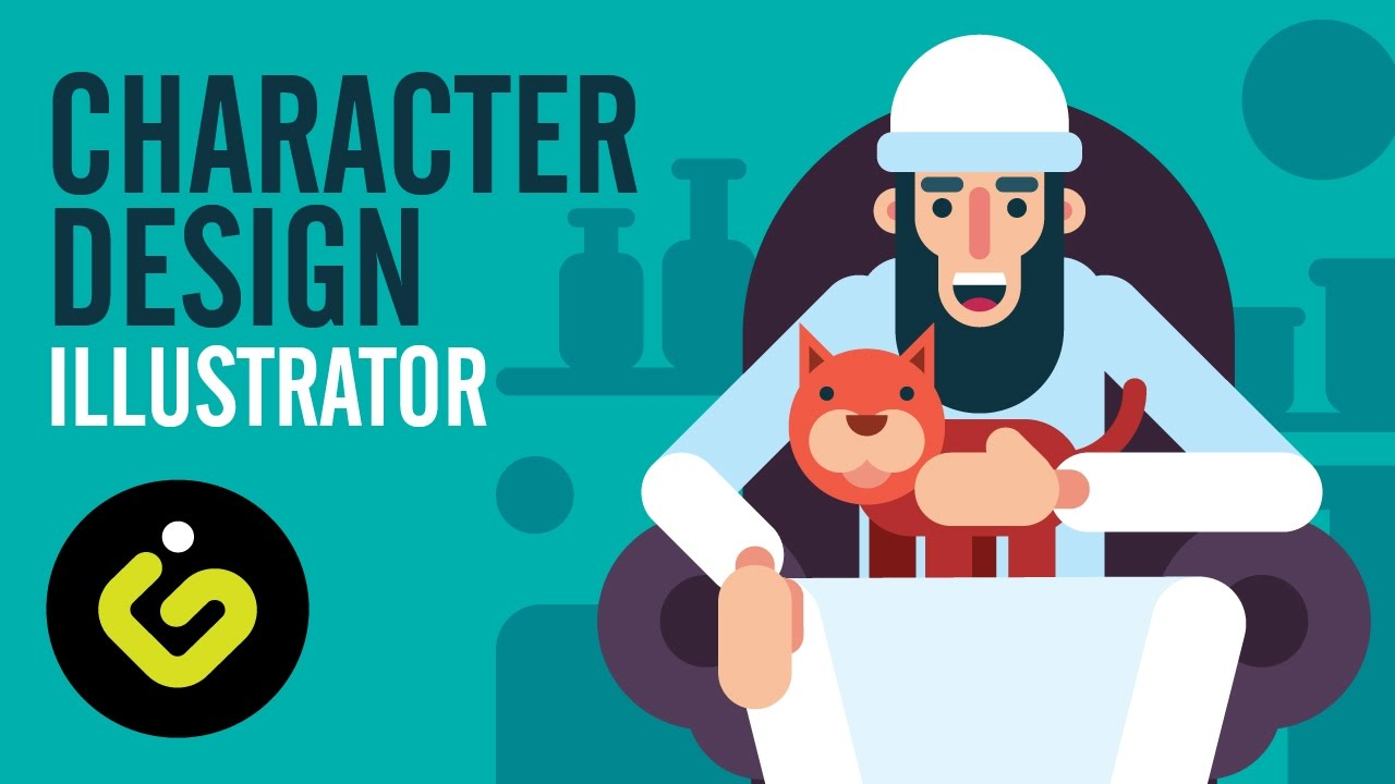 Character Design Tutorials In Illustrator : Character design flat tutorial in illustrator