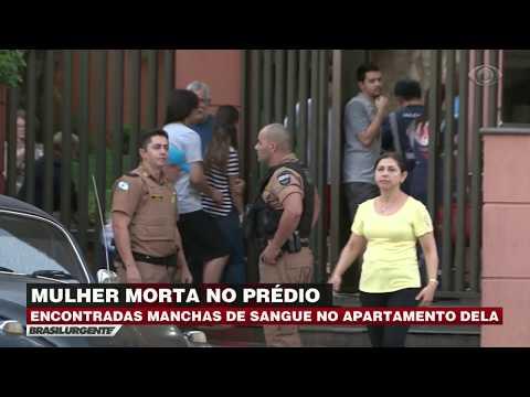Esfaqueada sete vezes, mulher cai de prédio no Paraná