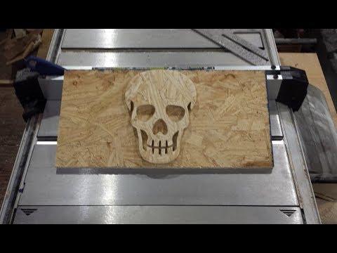 Make Scroll Saw Art Out Of OSB Board // DIY