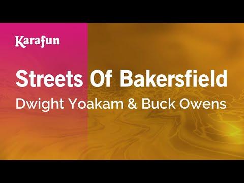 Karaoke Streets Of Bakersfield - Dwight Yoakam *