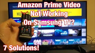 Amazon Prime Video NOT WORKING on Samsung Smart TV? FIXED (7 Solutions) screenshot 4