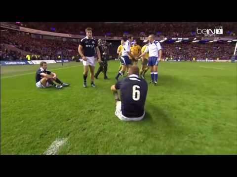 Australia Vs Scotland Highlights HD 13/11/2016