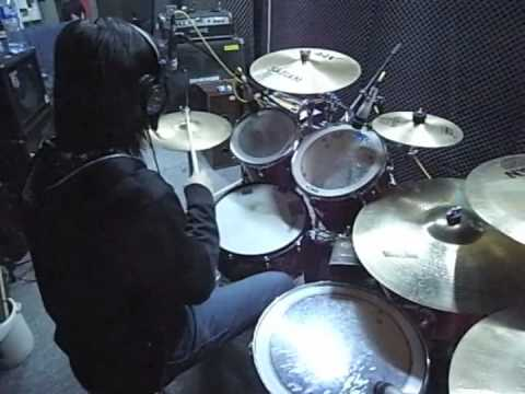 Gould Wu - Saosin - You're Not Alone (drum cover)
