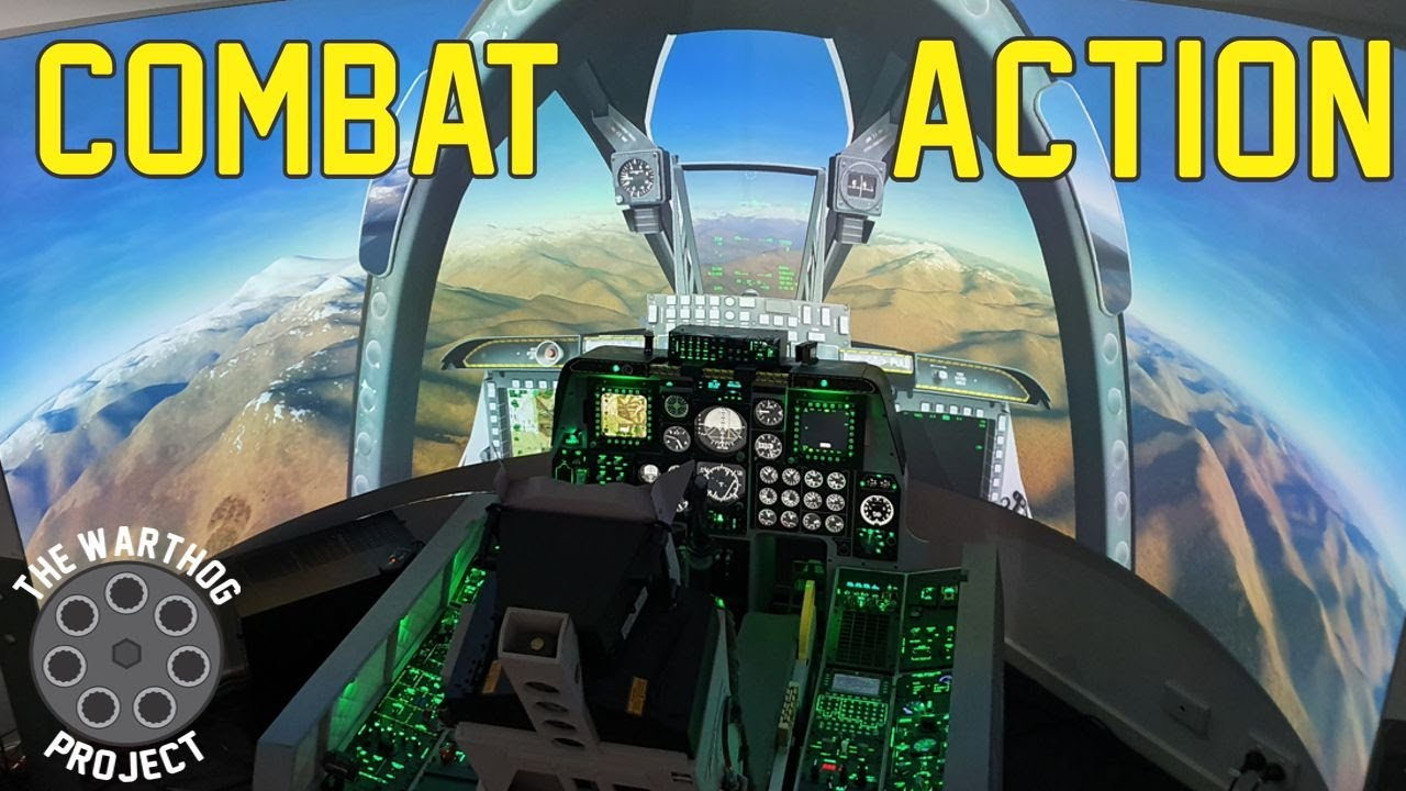 Combat in an A10C Warthog Simulator!