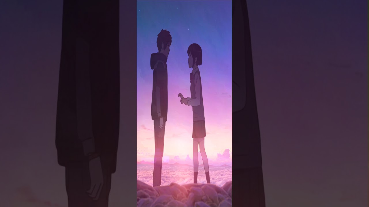 Live Wallpapers Your Name Sequence 1(kimi no na wa) - YouTube