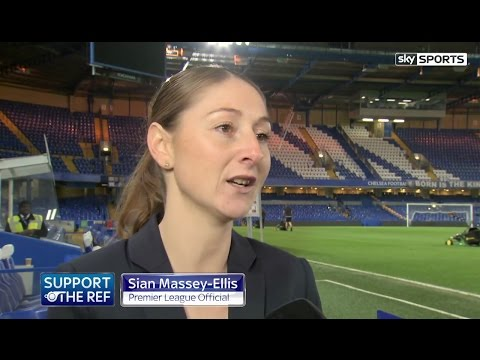 It doesn't matter that I'm a woman says Sian Massey-Ellis