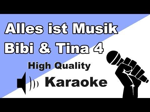 🔴🎤Bibi & Tina 4 - Alles ist Musik (Karaoke/Instrumental) mit Text🎤🔴