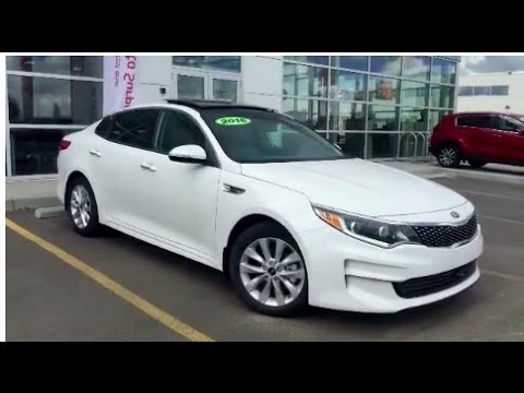 2016 kia optima ex tech package navigation leather seats youtube. Black Bedroom Furniture Sets. Home Design Ideas