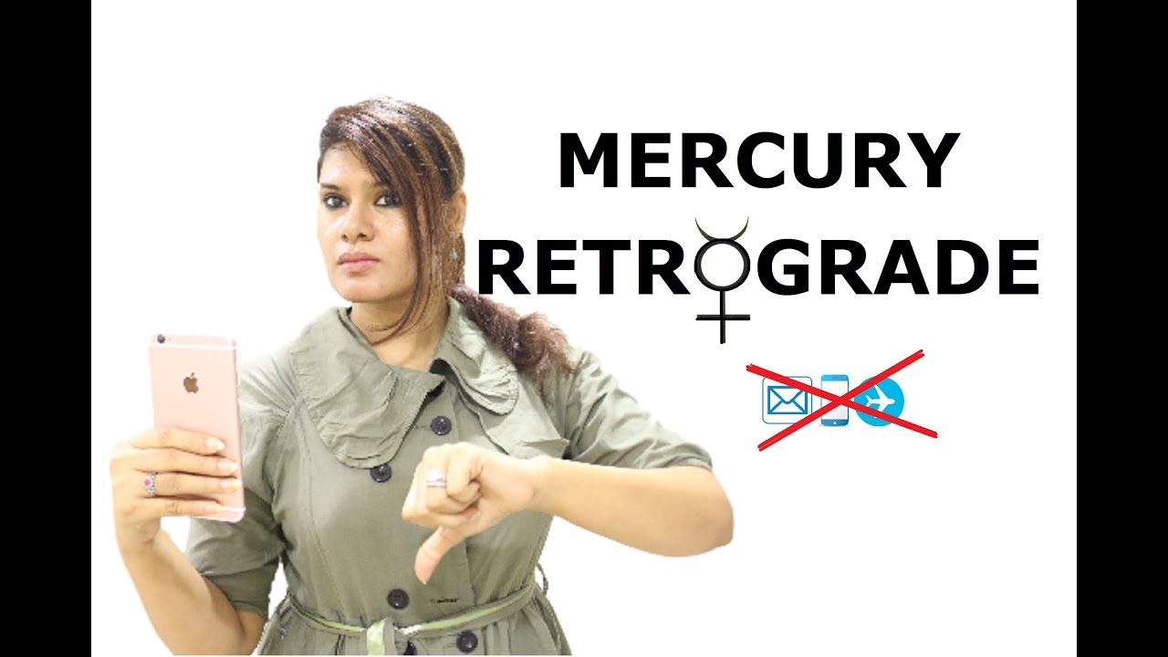 mercury retrograde in birth chart vedic astrology